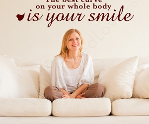 curve, smile, and life image