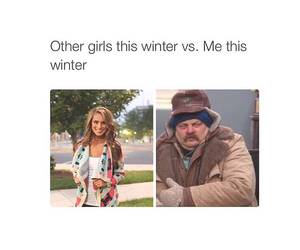 winter, funny, and me image