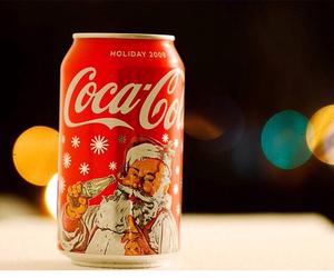 christmas, coca cola, and santa image