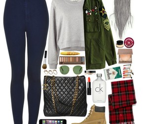 jeans, timberland, and women image