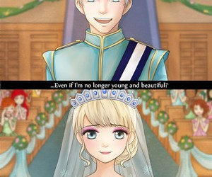 jelsa, frozen, and elsa image