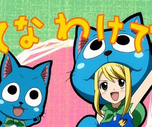 fairy tail and happy image