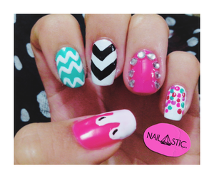accessories, girls, and nail art image
