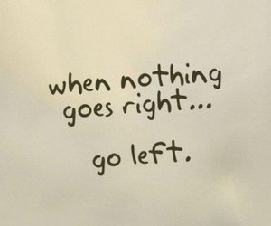 Right, left, and quotes image