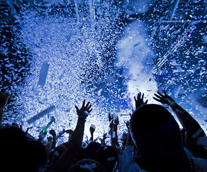 party, confetti, and music festival image