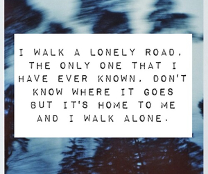 green day and lonely road image