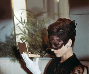 audrey hepburn, vintage, and lace image