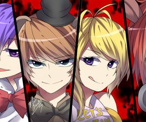 fnaf, Freddy, and Bonnie image