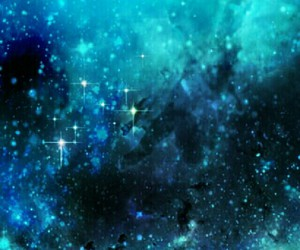 blue, galaxy, and wallpaper image