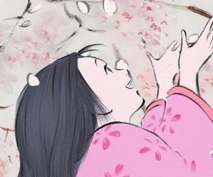 sakura, studio ghibli, and anime image