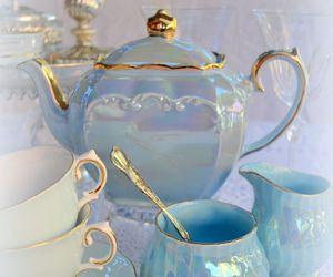 blue and tea image