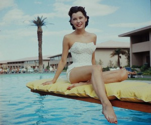 1955, Las Vegas, and bathing beauty image
