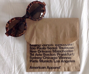 american apparel, grunge, and sunglasses image