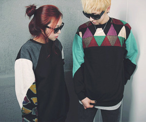 couple, fashion, and asian image