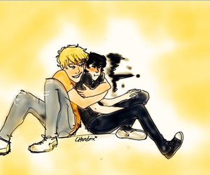 percy jackson, heroes of olympus, and nico di angelo image