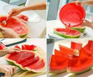 diy, watermelon, and food image