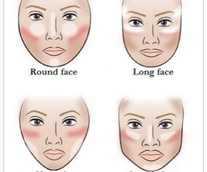 face, makeup, and contour image