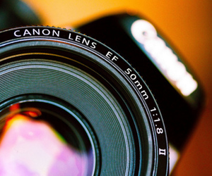 camera, canon, and lens image