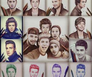 luis, one direction, and niall image