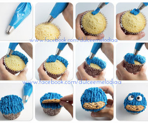 tutorial, cupcakes, and food image
