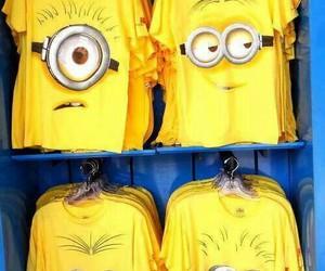 minions, shirt, and t-shirt image
