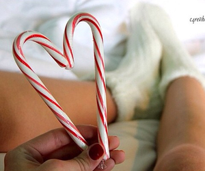 candy canes, tumblr, and tumblr girls image