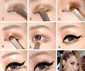 2ne1, CL, and eye makeup image