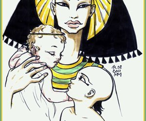 illustration and the prince of egypt image