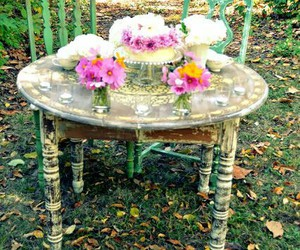 garden party, tea party, and shabby chic image