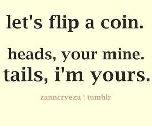 coin, flip, and heads image