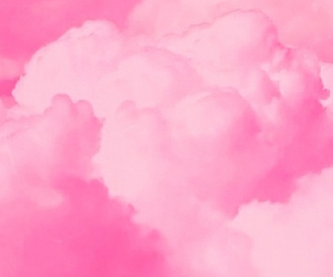 pink, clouds, and background image