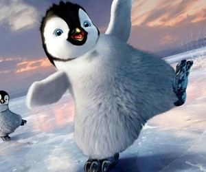 penguin, animal, and Happy Feet image