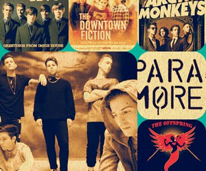 arctic monkeys, paramore, and the click five image