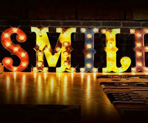 carnival, light, and smile image