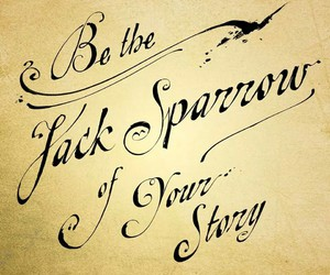 jack sparrow, quote, and pirate image