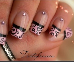 do it yourself, pink and black, and elegant image