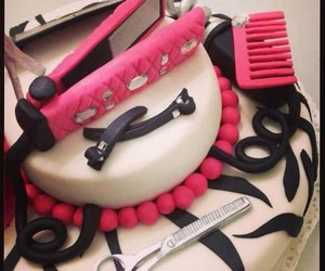 cake, style, and pink image