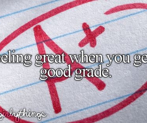 school, grades, and just girly things image
