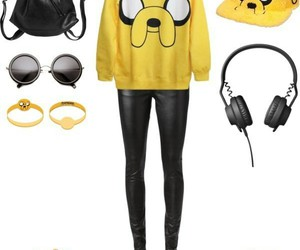 fashion, style, and adventure time image
