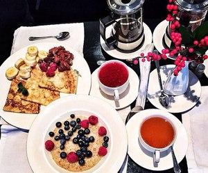 breakfast and tea image