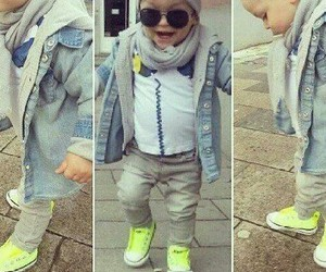 baby boy, fashion, and girls image