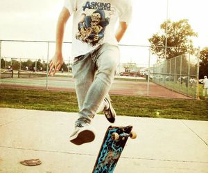 boy, tricks, and photography image