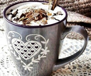 cup and hot ​chocolate image