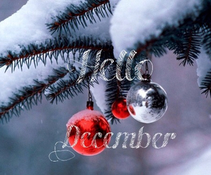 december, snow, and tomorrow image