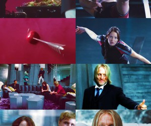 the hunger games and katniss image