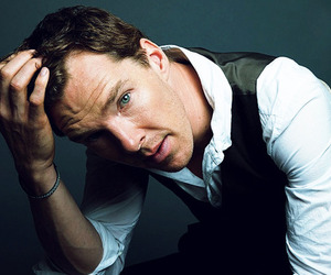 benedict cumberbatch, actor, and handsome image