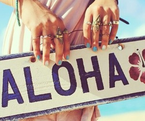 accesories, adventure, and Aloha image