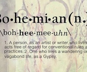 bohemian and gypsy image
