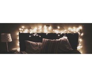 bed, beige, and christmas image