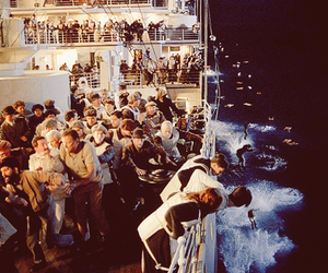 titanic, movie, and rose image